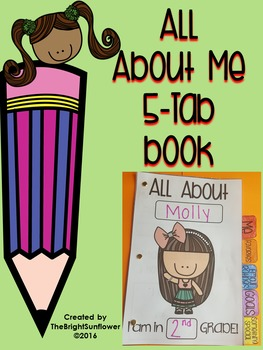 All About Me 5-Tab Book