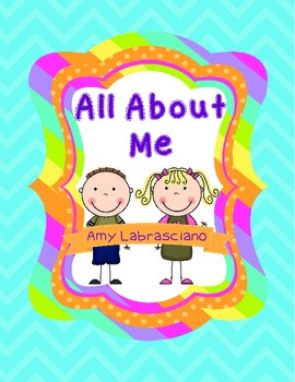 All About Me- A Back To School Activity