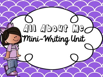 All About Me Writing