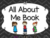 All About Me - A Preschool and Kindergarten Book