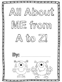All About Me  A-Z