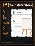 All About Me - A to Zee of Me!