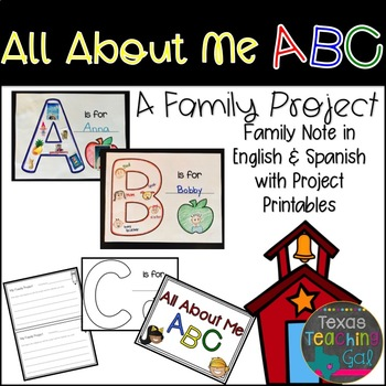 All About Me ABC (A Family Project)