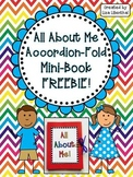 All About Me Accordion Fold Mini-Book ~ Freebie!