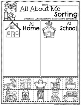 picture about All About Me Printable Preschool identify All Above Me Routines Preschool