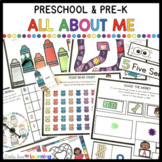 All About Me Activities and Centers for Preschool, Pre-K,