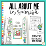 All About Me Activities in Spanish - Todo sobre mi