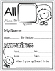 All About Me - Pennant FREE (Back to School - 3 Pack)