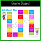 All About Me Activity Board Game