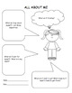 All About Me Activity Handout - Great for Students, Fiction, and Non-Fiction