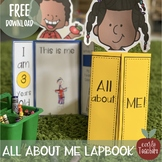 All About Me Activity - LapBook Activity for preschool, Pr
