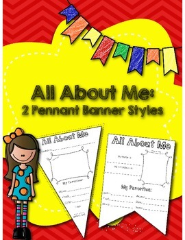 All About Me: Back to School Activity Pack