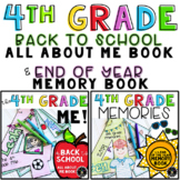 All About Me Activity and End of Year Memory Book Bundle