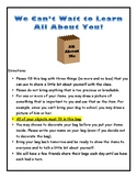 All About Me Activity for Back-to-School