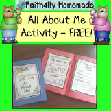All About Me Activity_FREE