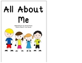 All About Me Adapted Book