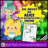 All About Me Alice in Wonderland Theme