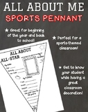 All About Me All-Star Sports Pennant