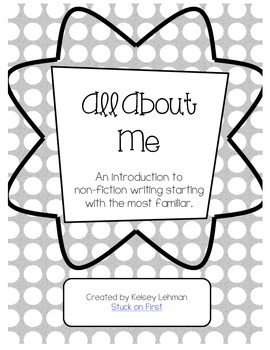 All About Me: An Introduction to Non-Fiction Writing