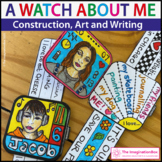 Beginning of the Year Art Activity | All About Me Watch