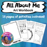 All About Me: Art Workbook