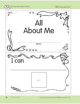 All About Me: Art and Cooking Activities