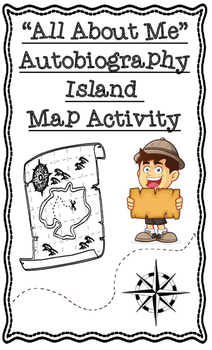 Autobiography Island All About Me Social Studies Geography Project