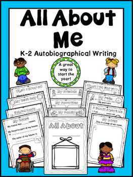 All About Me - Autobiography Writing