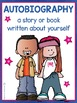 Autobiography Writing Activity - All About Me