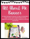 All About Me- BANNER