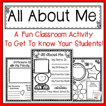 all about me writing This lesson will take the fear out of writing by allowing your students to write about what makes them happy it provides a simple way to give young writers creative freedom.