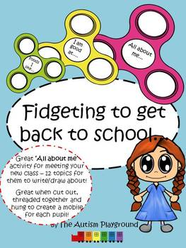 All About Me - Back To School Activity - Getting to know your new class NO PREP
