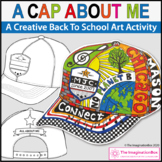 All About Me Back To School Art | Baseball Cap Activity