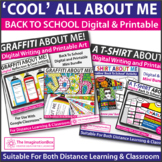 All About Me Back To School Art and Writing | Digital and