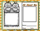All About Me Back To School Book