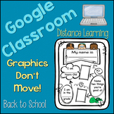 All About Me - Back To School -  Distance Learning - { Goo