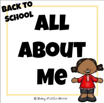 All About Me - Back to School