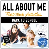 All About Me Back to School