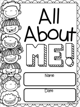 All About Me ~ Back to School Activities