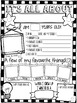 All About Me! Back to School Activity {Editable Version Included}