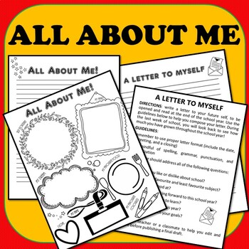 THREE All About Me Back to School Project Ideas