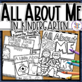 All About Me 'Superhero' Theme - a Back to School Activity Pack for Kindergarten