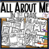 Back to School 'Superhero' All About Me Activity - 1st Grade