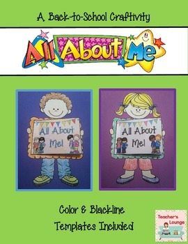 All About Me Back-to-School Craft