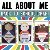 Back to School All About Me - First Day of School Activities