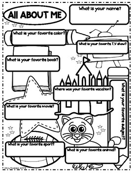 All About Me-Back to School (Freebie)