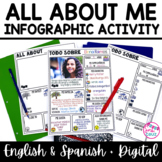 All About Me Back to School Freebie (Spanish & English) Distance Learning