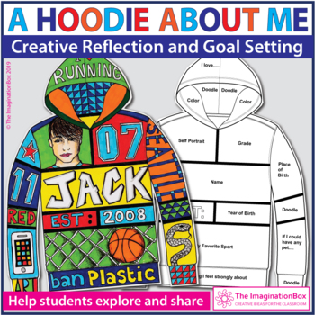 All About Me Art - Hoodie Design Activity
