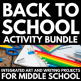 All About Me | Back to School | Middle School | Bundle | A