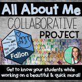 All About Me - Back to School - Mural Project - Bulletin Board - Open House